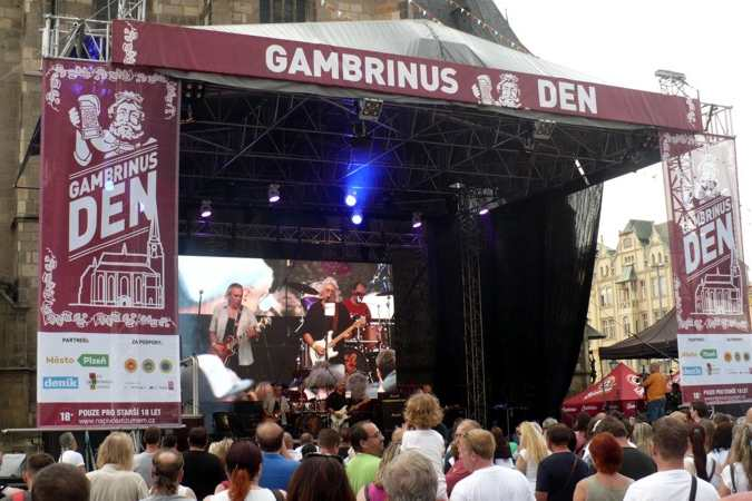 Plzeň events calendar: Pilsner fest Gambrinus day is the Beer festival, which belongs to the most visited Pilsen events.
