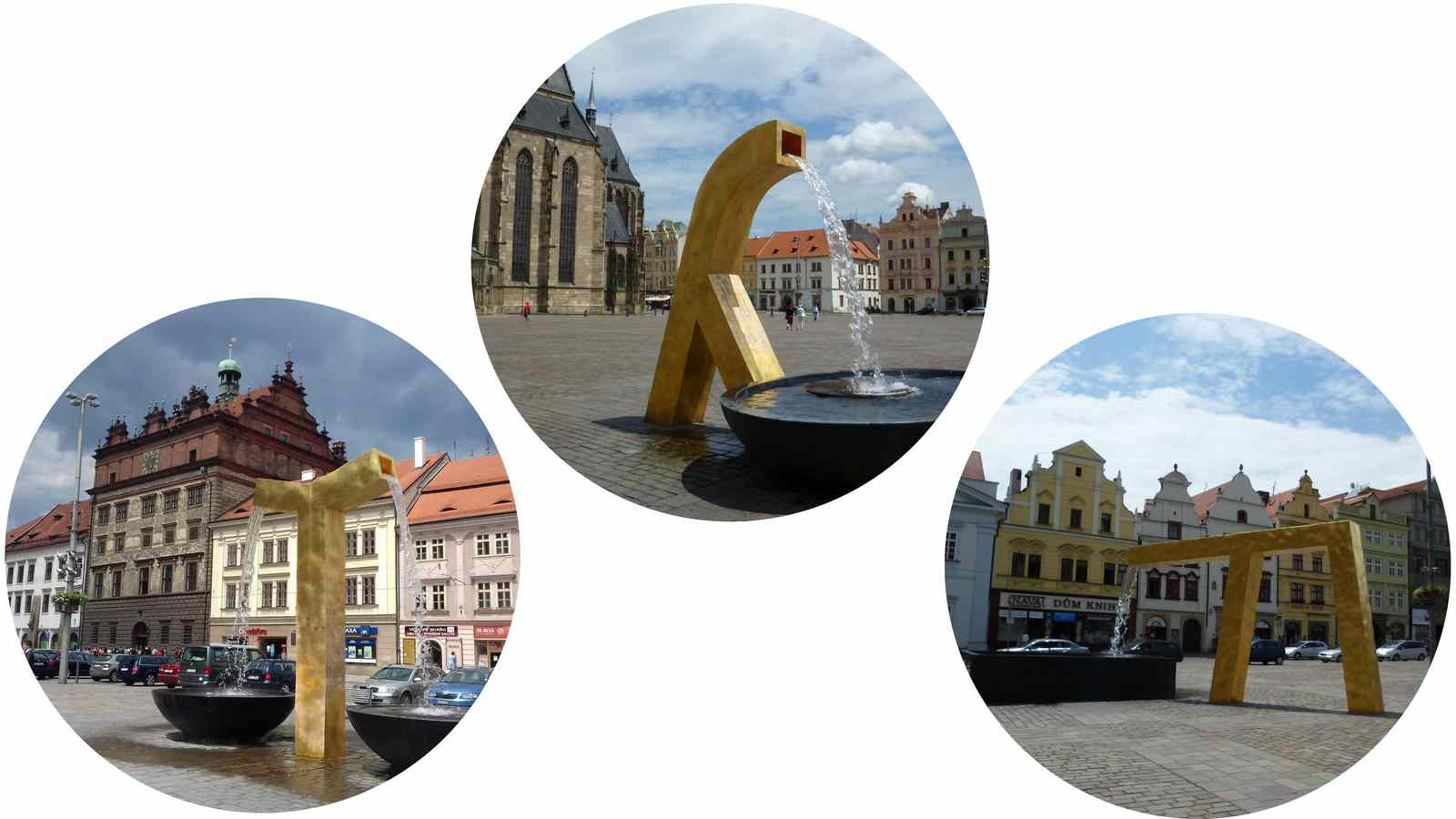 Discover Pilsen sights: Pilsen free walking tour. Plzen tourist attractions. Pilsen Sehenswürdigkeiten.