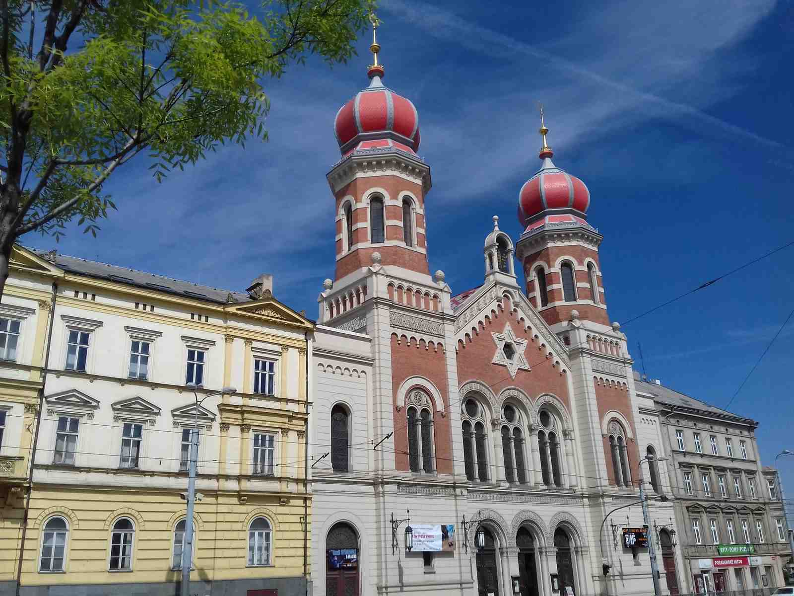 Great Synagogue in Pilsen (Plzeň) 